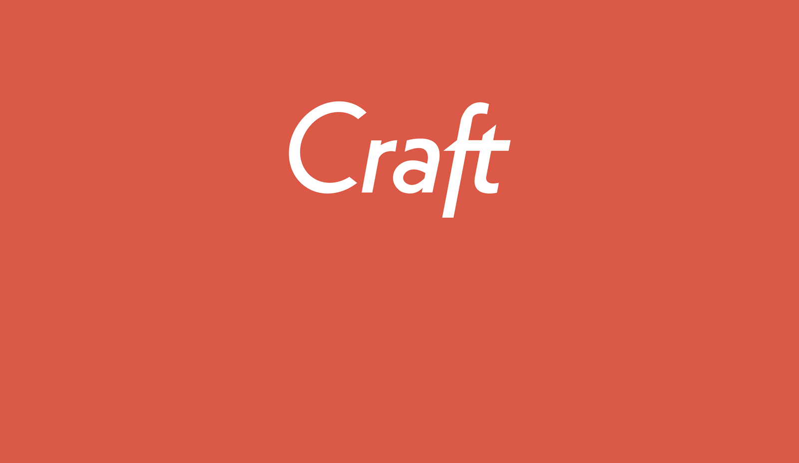 Why We Choose Craft